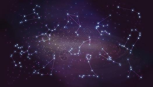 十二星座图片