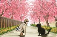 樱花大街图片