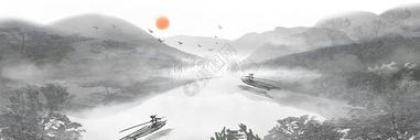 中国风山水风景图片