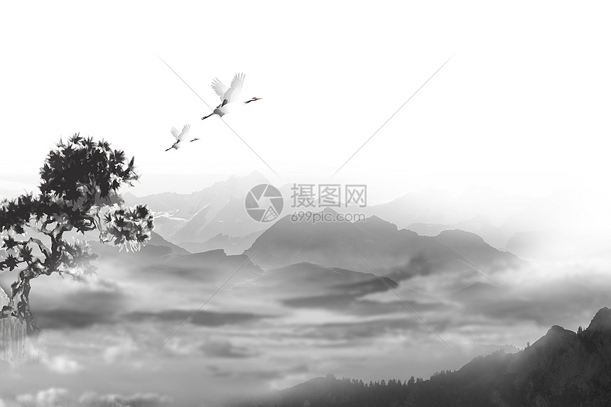 中国风背景图图片