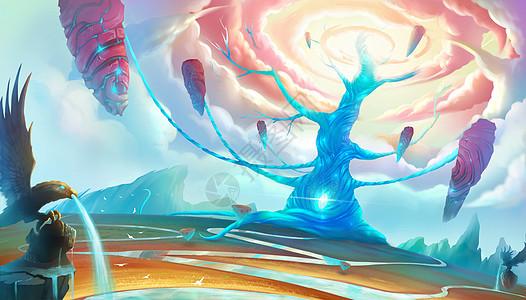 天国之树图片