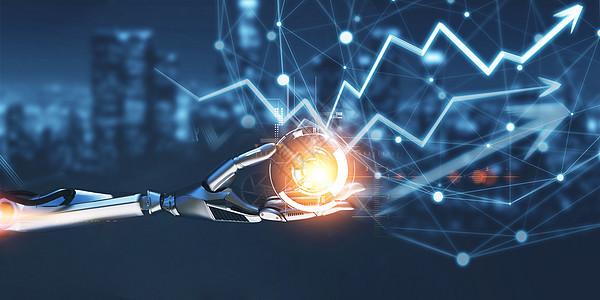 AI科技感机器人图片
