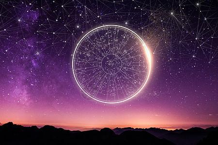 12星座背景图片