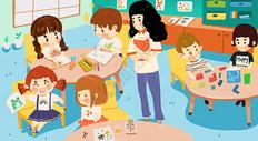 儿童教育活动图片