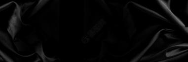 黑色丝绸背景图片