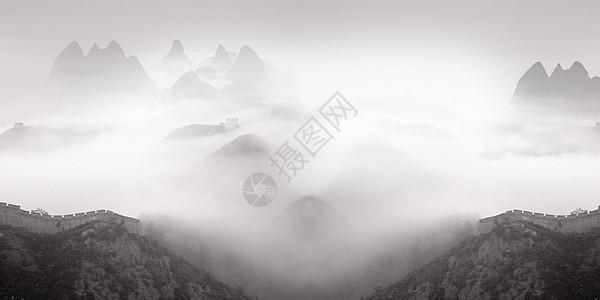 山色背景图片