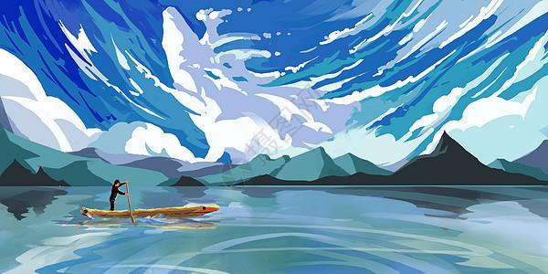 云中湖图片