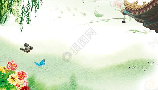 春日背景图片