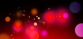 红色光晕背景图片