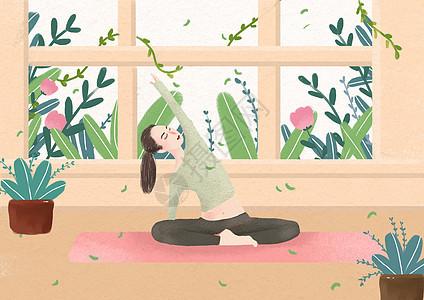 瑜伽健康图片