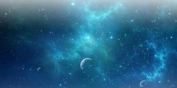 梦幻星空图图片