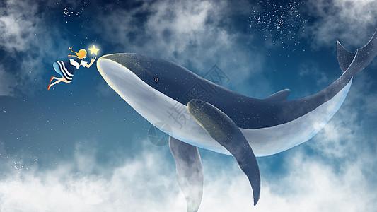鲸与少女图片