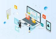 电子科技互联网办公图片