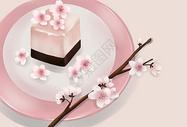 樱花布丁图片