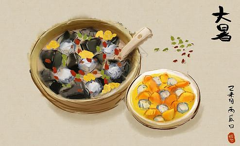 中国美食之二十四节气图片大全