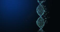 DNA基因科技背景图片