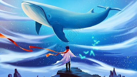 鲸与少年图片