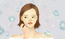 美容美白女孩图片