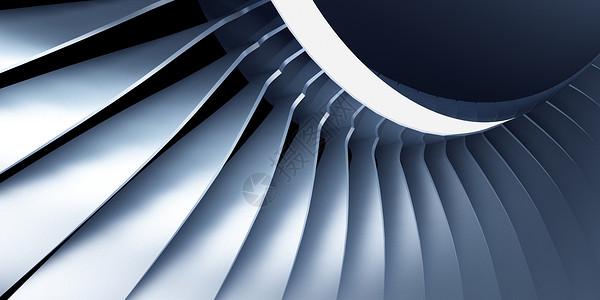 飞机发动机场景图片