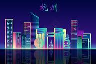 杭州地标建筑图片