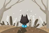 立冬插画图片