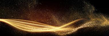 简约大气金色背景图片