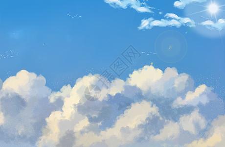 纸飞机与云图片