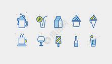 饮料冷饮图标icon图片