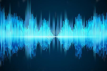 科技语音背景图片