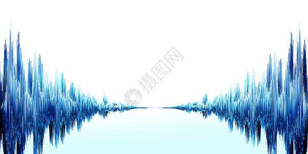 语音频率线条图片