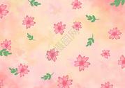 樱花元素背景图片