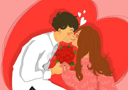 玫瑰爱人图片