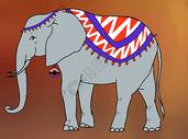 大象背景素材图片