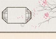 谷雨节气中国风插画图片