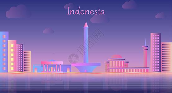 印度尼西亚地标建筑图片