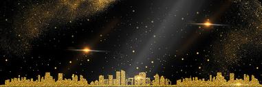大气房地产金色背景图片