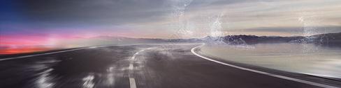创意汽车海报背景图片