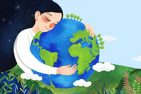 爱护地球图片