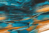 蓝色颜料纹理背景图片