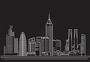 线性建筑风光图片