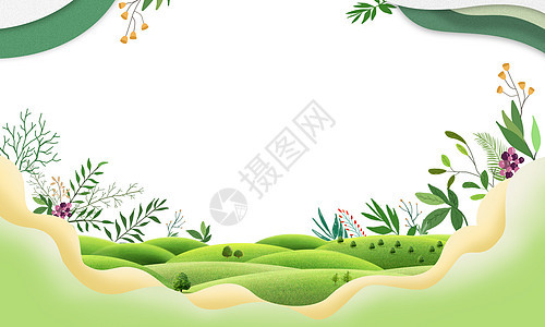 春天背景元素图片