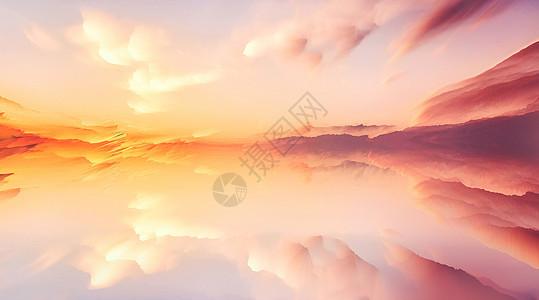 创意云彩背景图片