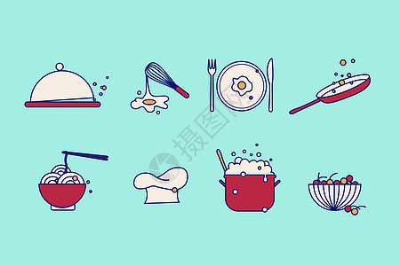 厨具小图标图片