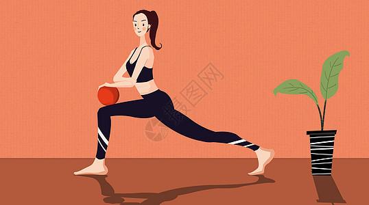 瑜伽锻炼图片