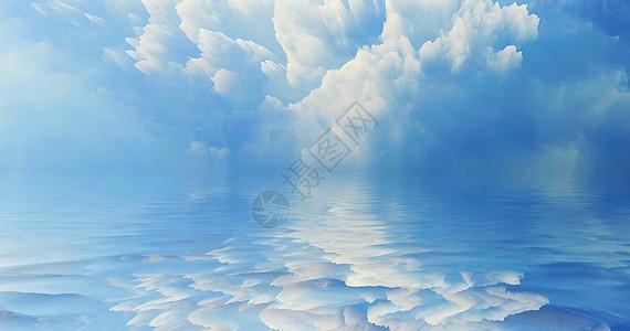 创意天空云彩背景图片