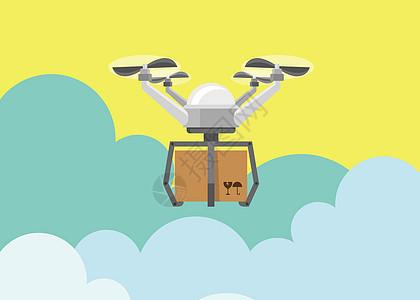 无人机运输图片