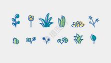 植物花卉图标图片