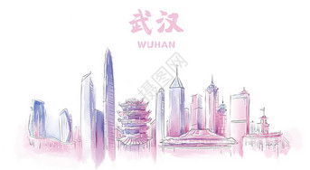 武汉地标建筑图片