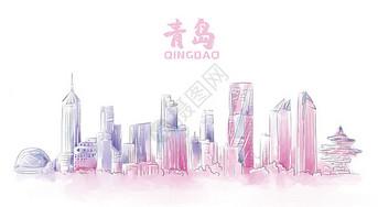 青岛地标建筑图片