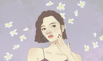 美妆美女图片